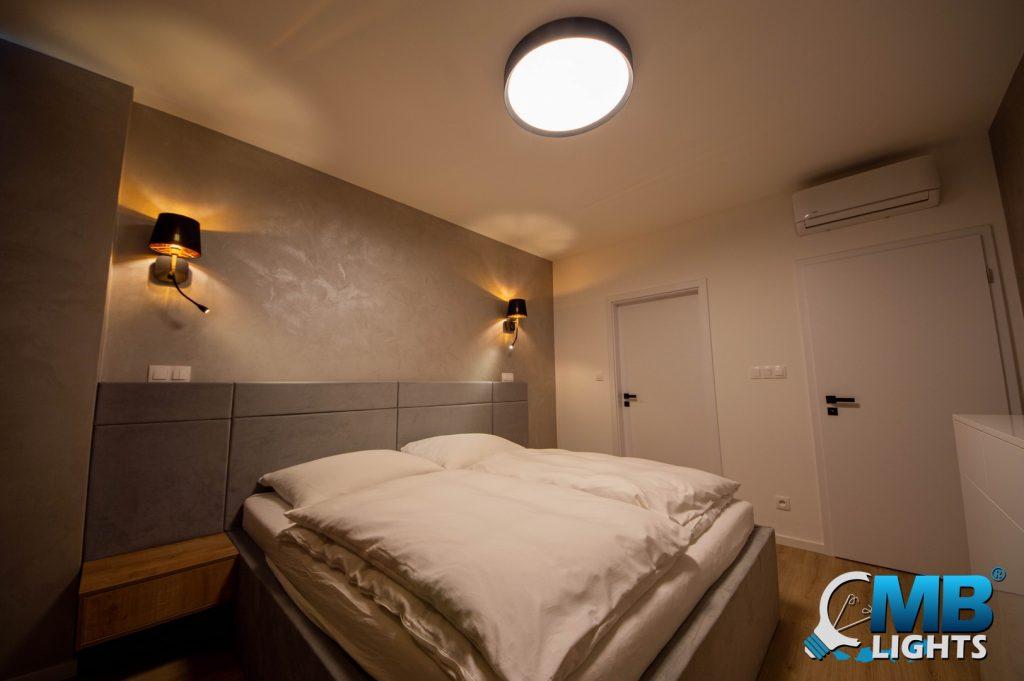 osvetlenei spálne